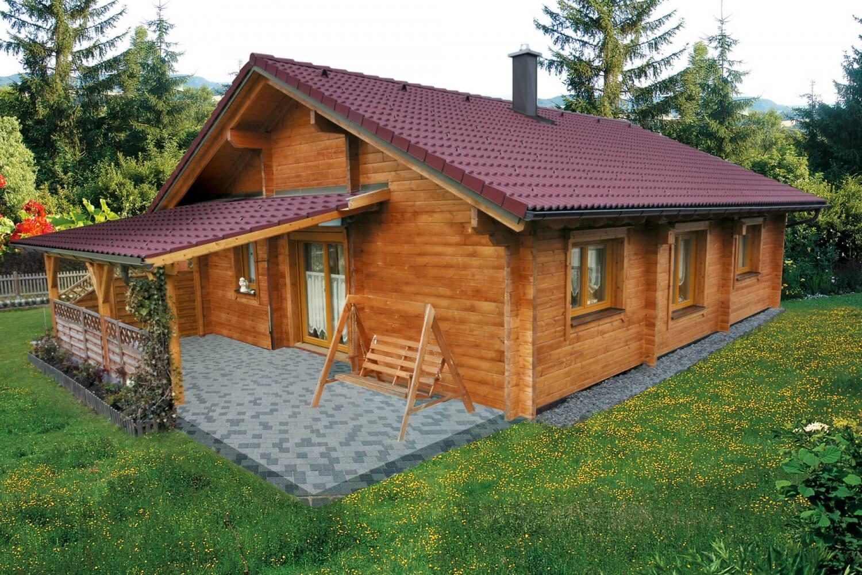 blockhaus bungalow preise landleben im modernen blockhaus bungalow finnholz holzhaus bungalow. Black Bedroom Furniture Sets. Home Design Ideas